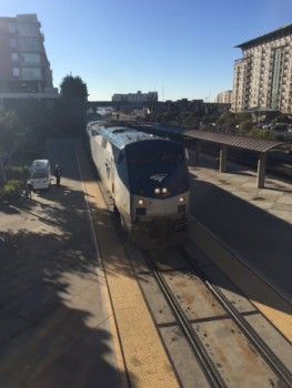 California Zephyr arrives in Emeryville